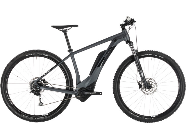 Cube Reaction Hybrid ONE 500 Elcykel MTB Hardtail grå